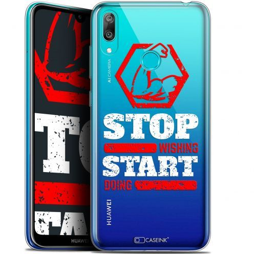 """Extra Slim Gel Huawei Y7 / Prime / Pro 2019 (6.26"""") Case Quote Start Doing"""