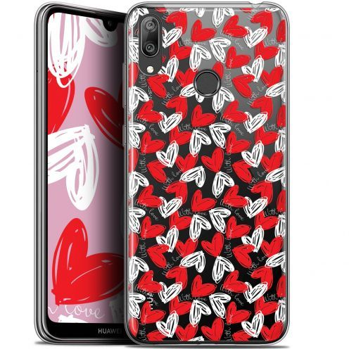 "Extra Slim Gel Huawei Y7 / Prime / Pro 2019 (6.26"") Case Love With Love"