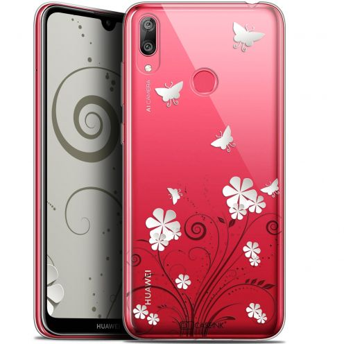 """Extra Slim Gel Huawei Y7 / Prime / Pro 2019 (6.26"""") Case Summer Papillons"""