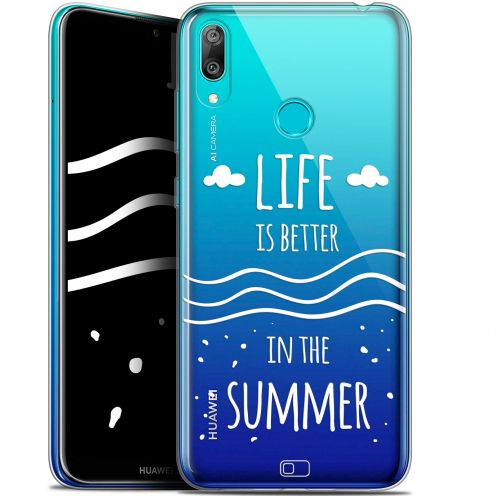 "Extra Slim Gel Huawei Y7 / Prime / Pro 2019 (6.26"") Case Summer Life's Better"