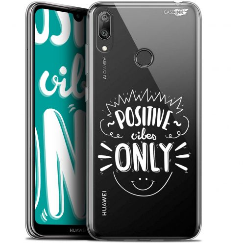 "Extra Slim Gel Huawei Y7 / Prime / Pro 2019 (6.26"") Case Design Positive Vibes Only"
