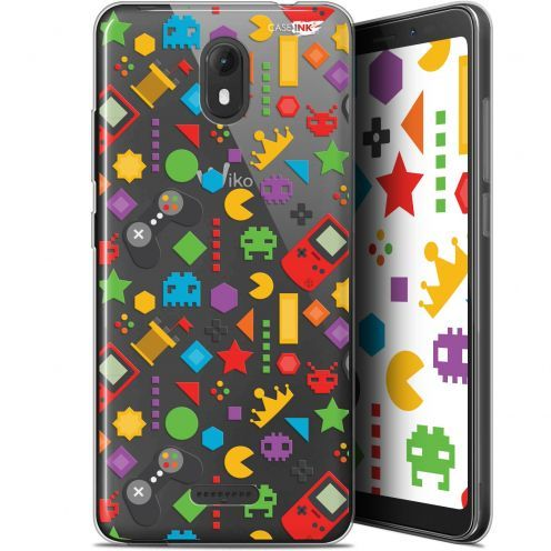 "Extra Slim Gel Wiko View GO (5.7"") Case Design PacMan"