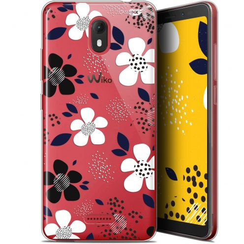 "Extra Slim Gel Wiko View GO (5.7"") Case Design Marimeko Style"