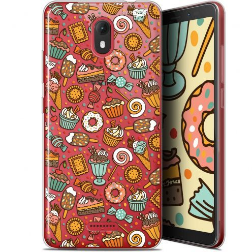 "Extra Slim Gel Wiko View GO (5.7"") Case Design Bonbons"