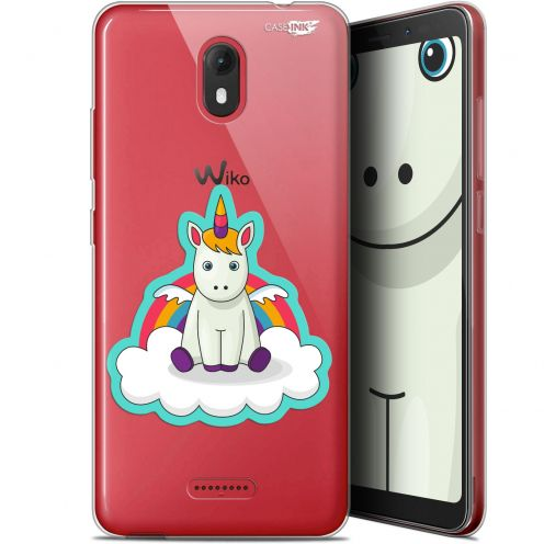 "Extra Slim Gel Wiko View GO (5.7"") Case Design Bébé Licorne"