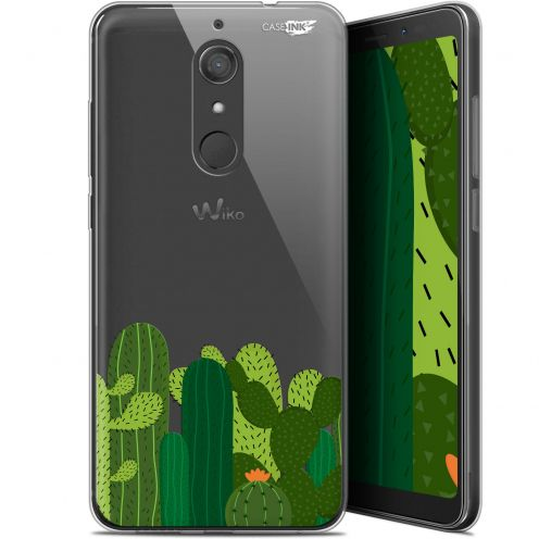 "Extra Slim Gel Wiko View XL (5.99"") Case Design Cactus"