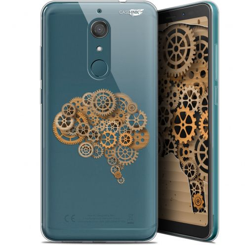"Extra Slim Gel Wiko View XL (5.99"") Case Design Mécanismes du Cerveau"