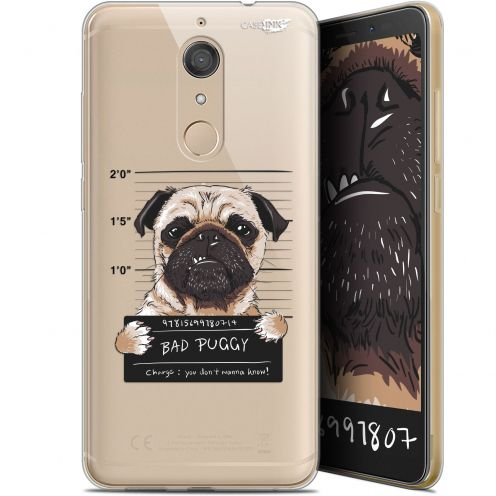 "Extra Slim Gel Wiko View XL (5.99"") Case Design Beware The Puggy Dog"