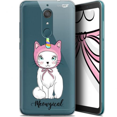 "Extra Slim Gel Wiko View XL (5.99"") Case Design Ce Chat Est MEOUgical"
