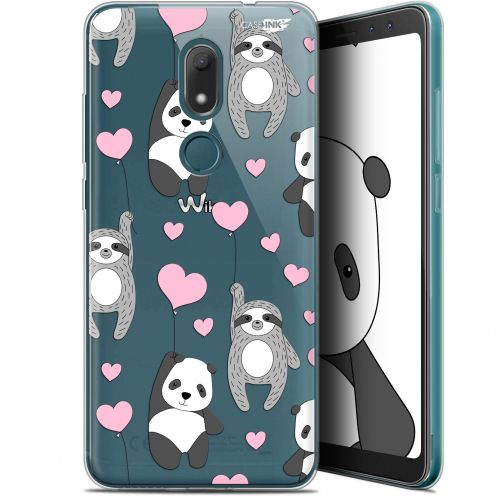 "Extra Slim Gel Wiko View PRIME (5.7"") Case Design Panda'mour"
