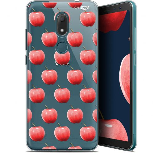 "Extra Slim Gel Wiko View PRIME (5.7"") Case Design Cerises"