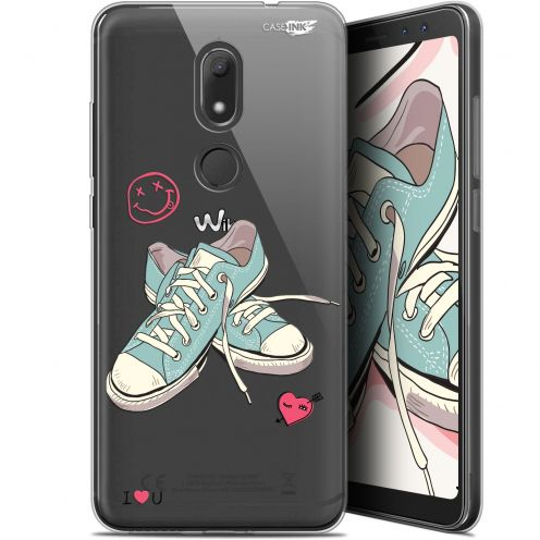 """Extra Slim Gel Wiko View PRIME (5.7"""") Case Design Mes Sneakers d'Amour"""