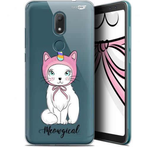 """Extra Slim Gel Wiko View PRIME (5.7"""") Case Design Ce Chat Est MEOUgical"""