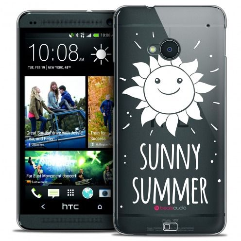 Extra Slim Crystal HTC One (M7) Case Summer Sunny Summer