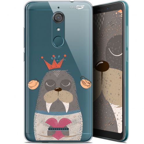 "Extra Slim Gel Wiko View (5.7"") Case Design Sketchy Walrus"