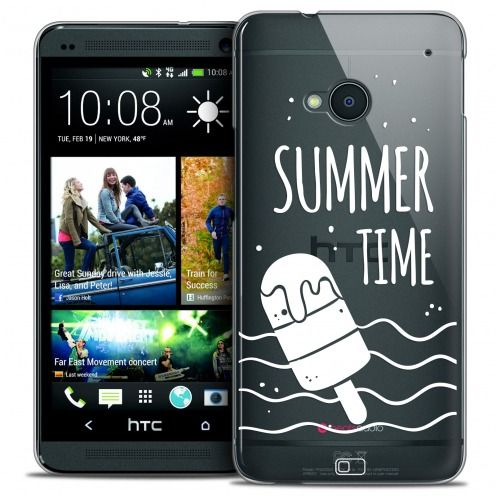 Extra Slim Crystal HTC One (M7) Case Summer Summer Time