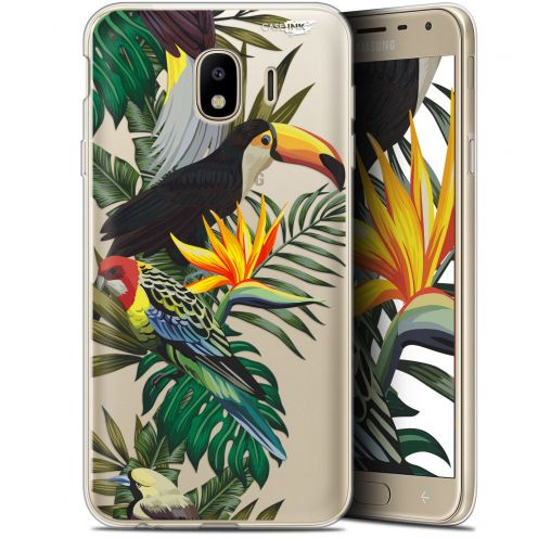 "Extra Slim Gel Samsung Galaxy J4 2018 J400 (5.7"") Case Design Toucan Tropical"