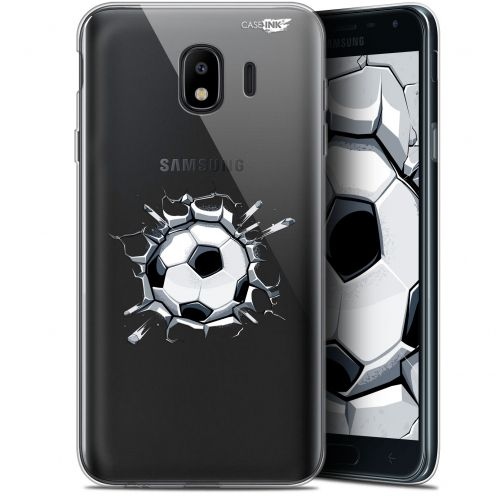 "Extra Slim Gel Samsung Galaxy J4 2018 J400 (5.7"") Case Design Le Balon de Foot"