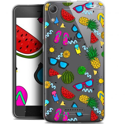 "Extra Slim Gel Wiko Lenny 4 (5"") Case Design Summers"