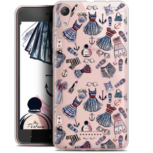 "Extra Slim Gel Wiko Lenny 4 (5"") Case Design Fashionista"