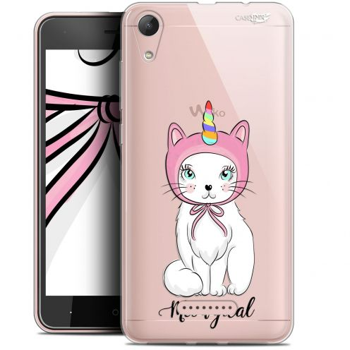 "Extra Slim Gel Wiko Lenny 4 (5"") Case Design Ce Chat Est MEOUgical"