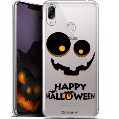 "Extra Slim Gel Asus Zenfone Max (M2) ZB633KL (6.3"") Case Halloween Happy"
