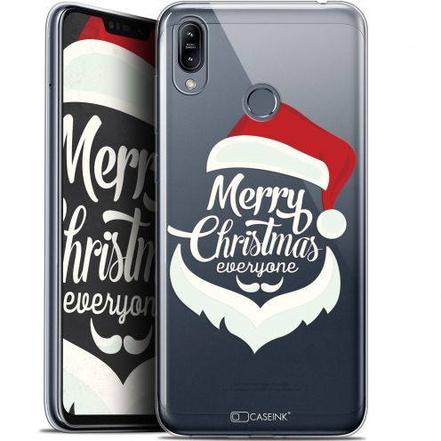 "Extra Slim Gel Asus Zenfone Max (M2) ZB633KL (6.3"") Case Noël 2017 Merry Everyone"