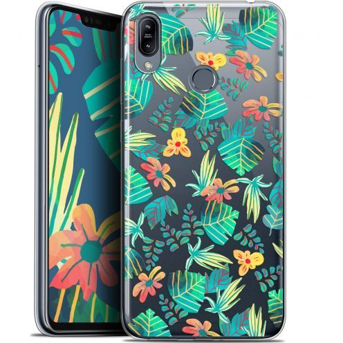 "Extra Slim Gel Asus Zenfone Max (M2) ZB633KL (6.3"") Case Spring Tropical"