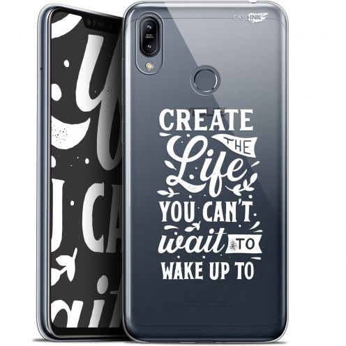 "Extra Slim Gel Asus Zenfone Max (M2) ZB633KL (6.3"") Case Design Wake Up Your Life"
