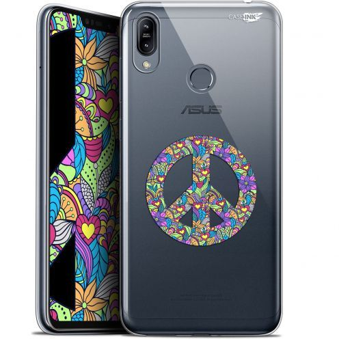 """Extra Slim Gel Asus Zenfone Max (M2) ZB633KL (6.3"""") Case Design Peace And Love"""