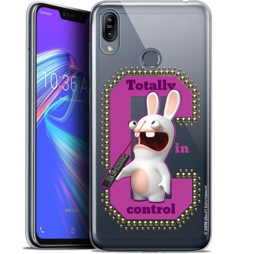 "Gel Asus Zenfone Max (M2) ZB633KL (6.3"") Case Lapins Crétins™ In Control !"