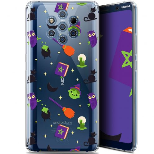 """Extra Slim Gel Nokia 9 PureView (6"""") Case Halloween Witch Potter"""
