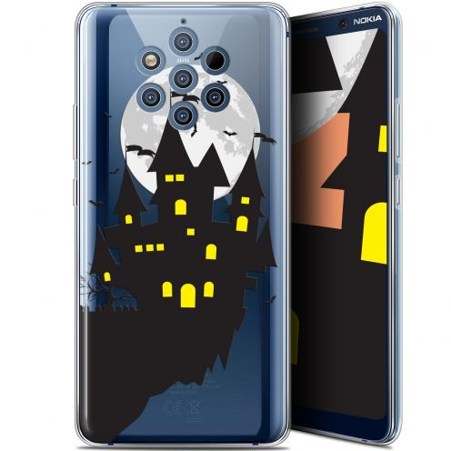 "Extra Slim Gel Nokia 9 PureView (6"") Case Halloween Castle Dream"