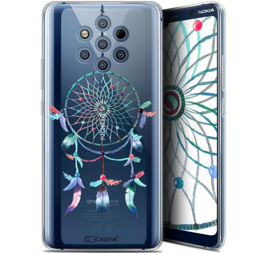 "Extra Slim Gel Nokia 9 PureView (6"") Case Dreamy Attrape Rêves Rainbow"