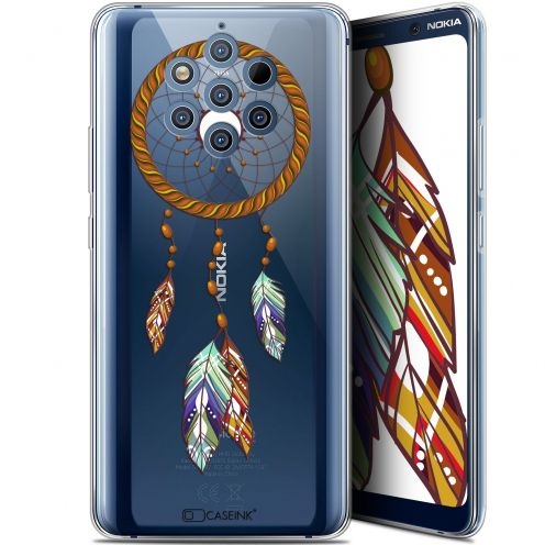 "Extra Slim Gel Nokia 9 PureView (6"") Case Dreamy Attrape Rêves Shine"