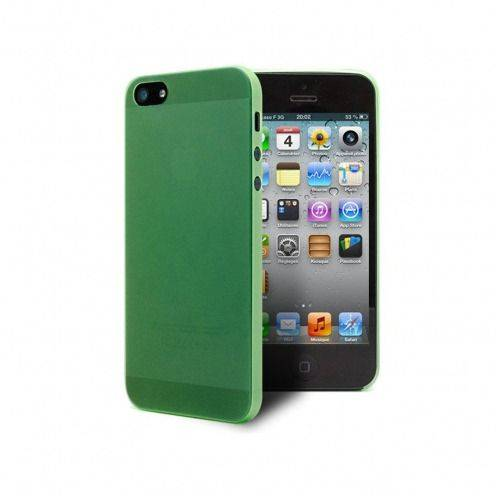 Ultra thin Case 0.3 mm Frost for iPhone 5 Green