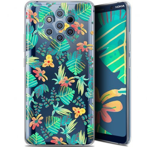 "Extra Slim Gel Nokia 9 PureView (6"") Case Spring Tropical"
