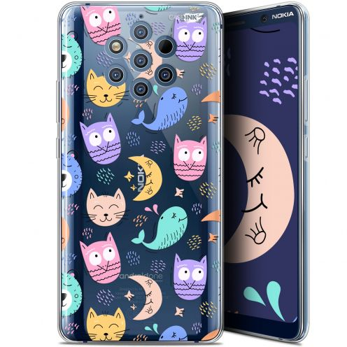 "Extra Slim Gel Nokia 9 PureView (6"") Case Design Chat Hibou"