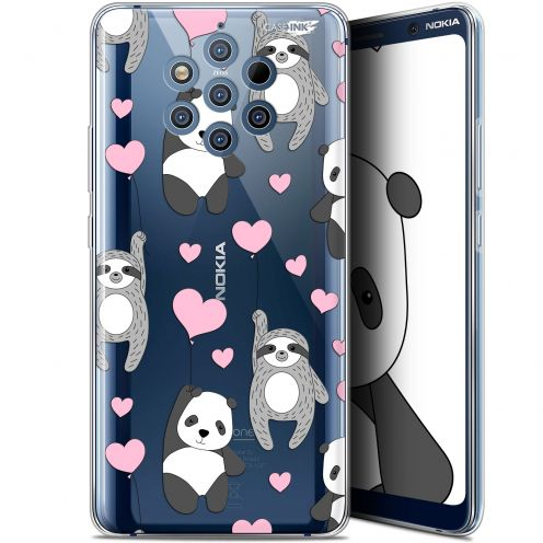 "Extra Slim Gel Nokia 9 PureView (6"") Case Design Panda'mour"