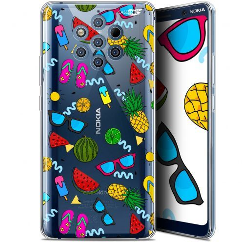 "Extra Slim Gel Nokia 9 PureView (6"") Case Design Summers"