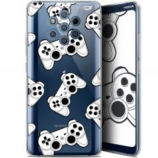 "Extra Slim Gel Nokia 9 PureView (6"") Case Design Game Play Joysticks"