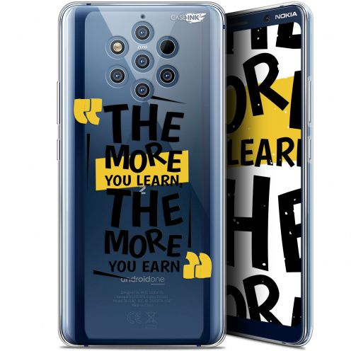 """Extra Slim Gel Nokia 9 PureView (6"""") Case Design The More You Learn"""