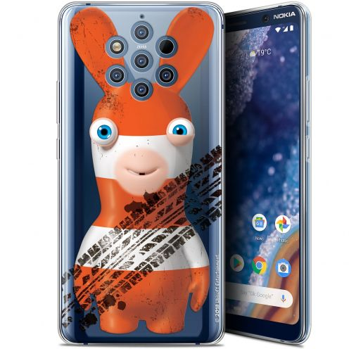 """Gel Nokia 9 PureView (6"""") Case Lapins Crétins™ On the Road"""