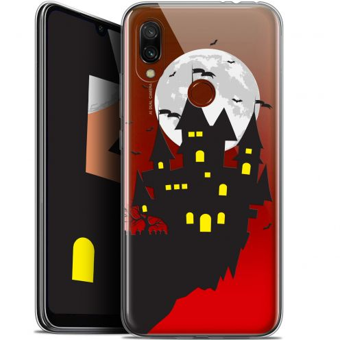 "Extra Slim Gel Xiaomi Redmi 7 (6.26"") Case Halloween Castle Dream"