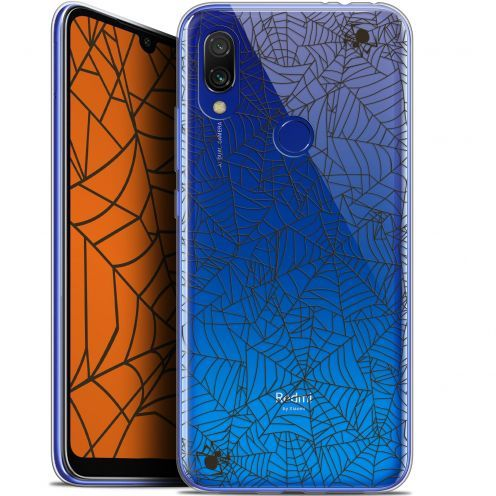 "Extra Slim Gel Xiaomi Redmi 7 (6.26"") Case Halloween Spooky Spider"