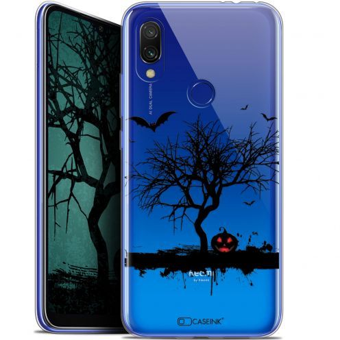 "Extra Slim Gel Xiaomi Redmi 7 (6.26"") Case Halloween Devil's Tree"