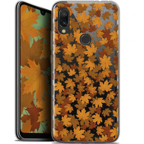 "Extra Slim Gel Xiaomi Redmi 7 (6.26"") Case Autumn 16 Feuilles"