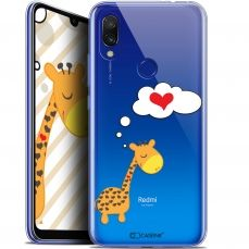 "Extra Slim Gel Xiaomi Redmi 7 (6.26"") Case Love Girafe Amoureuse"
