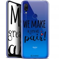 "Extra Slim Gel Xiaomi Redmi 7 (6.26"") Case Love We Make Great Pair"