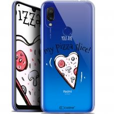 "Extra Slim Gel Xiaomi Redmi 7 (6.26"") Case Love My Pizza Slice"